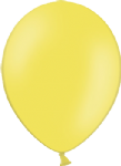 "10"" Pastel/Standard Yellow Latex Balloon"